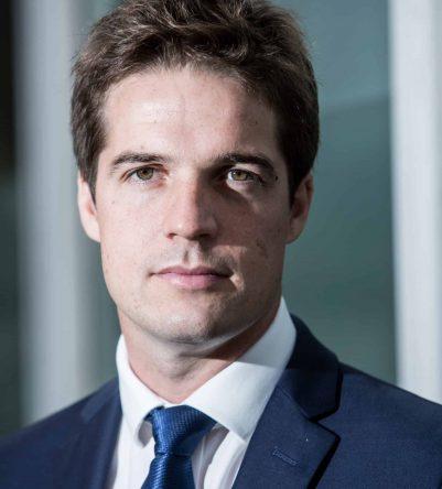 Thomas Dermine, responsable du plan Catch visant au redeploiement economique de la region de Charleroi